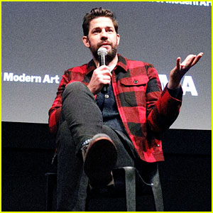 John Krasinski Attends MoMA's Contenders Screening of 'A Quiet Place' in NYC!