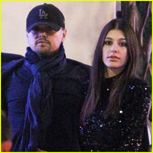 Leonardo DiCaprio & Camila Morrone Couple Up for Holiday Party!