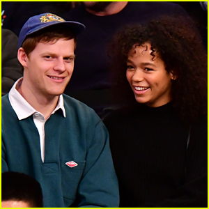 Lucas Hedges Kisses His Future Co-Star at the Knicks Game
