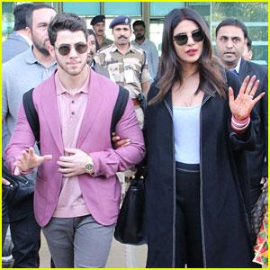 Nick Jonas & Priyanka Chopra Arrive In Udaipur Ahead of Friend's Wedding