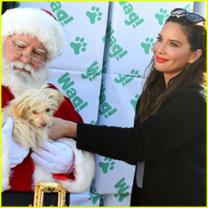 Olivia Munn Encourages Holiday Donations to Animal Shelters