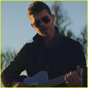 Robin Thicke Pays Tribute to Late Dad Alan in 'Testify' Music Video - Watch Here!