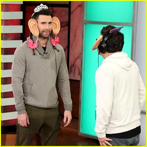 Adam Levine & Blake Shelton Play Hilarious Game of 'Say Whaaat?'