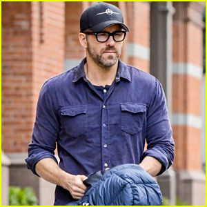 Ryan Reynolds Heads Out for the Day in Chilly New York City!