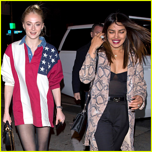Priyanka Chopra Joins Sophie Turner for Dinner in L.A.