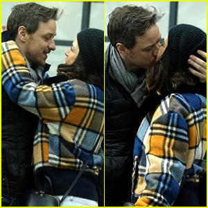 James McAvoy & Girlfriend Lisa