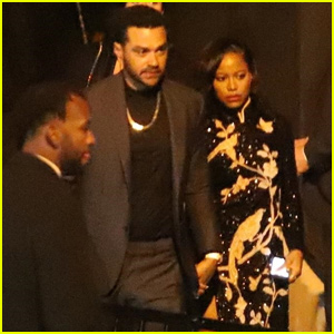 23b486b8a Jesse Williams   New Girlfriend Taylour Paige Couple Up For Oscars After  Parties