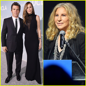 Josh Brolin & Wife Kathryn Boyd Support Step-Mother Barbra Streisand at Hollywood for Science Gala!