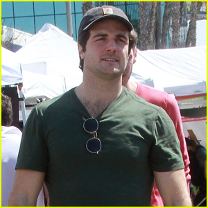 Beau Mirchoff Stops by Farmer's Market in Studio City