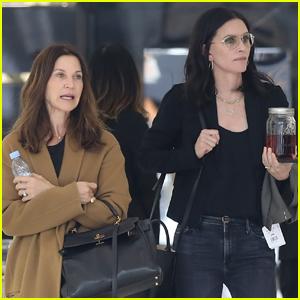 Courteney Cox Goes Shopping with Jason Bateman's Wife Amanda Anka