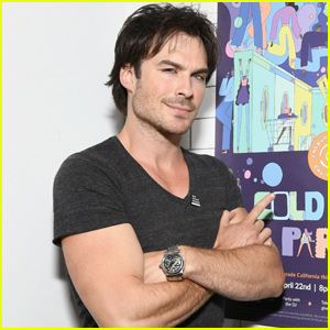 Ian Somerhalder Changed His Mind In The Middle of a Haircut!