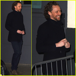 Tom Hiddleston Meets With Fans