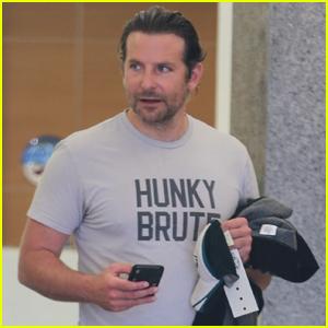 Bradley Cooper is One 'Hunky Brute' in West Hollywood!