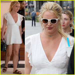 Britney Spears Reveals How Much Weight She's Lost From Stress (New Photos)