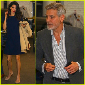 George & Amal Clooney Partner With Microsoft on Criminal Justice App