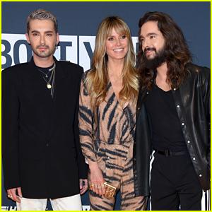 Heidi Klum Joins the Kaulitz Twins at About You Awards