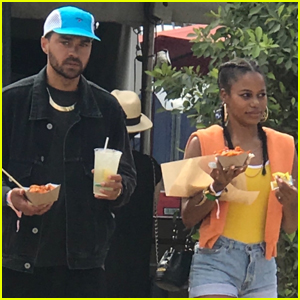 Jesse Williams & Girlfriend Taylour Paige Hang Out at Coachella 2019 Weekend Two!