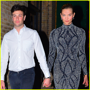 Karlie Kloss & Husband Joshua Kushner Hold Hands for Night Out in NYC!