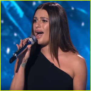 Lea Michele Performs 'Part of