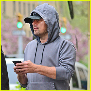 Leonardo DiCaprio Steps Out for a Rainy Day Stroll in NYC