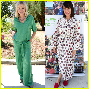 Malin Akerman & Constance Zimmer Celebrate Earth Day at EMA Garden Luncheon