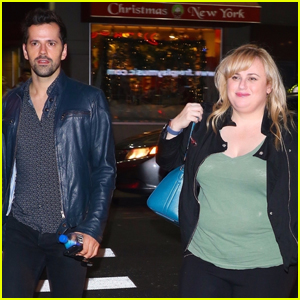 Rebel Wilson & 'Cats' Co-Star Robert Fairchild Hang Out in NYC!