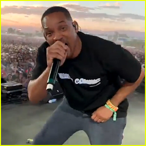 Will Smith Surprises Coachella Crowd During Jaden's Weekend Two Set!