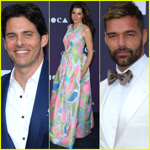 James Marsden, Marisa Tomei, & Ricky Martin Step Out for MOCA Benefit