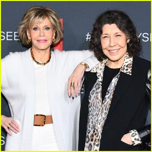 Jane Fonda & Lily Tomlin Buddy Up to Promote 'Grace & Frankie'