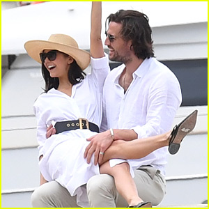 Nina Dobrev Flaunts PDA with Boyfriend Grant Mellon in Cannes!