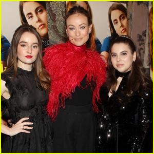 Olivia Wilde Joins Kaitlyn Dever & Beanie Feldstein at 'Booksmart' Premiere in NYC!