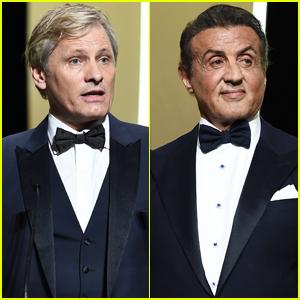 Viggo Mortensen & Sylvester Stallone Suit Up for Cannes Film Festival 2019 Closing Ceremony