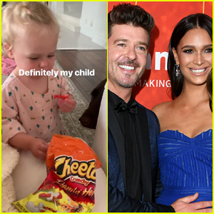 Model April Love Geary Defends Feeding 16-Month-Old Daughter Flamin' Hot Cheetos