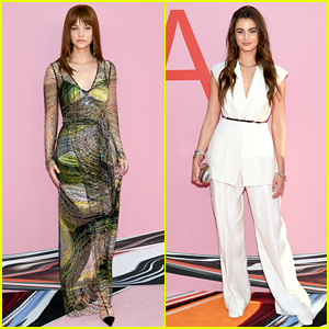 Barbara Palvin & Taylor Hill Step Out for CFDA Fashion Awards 2019!