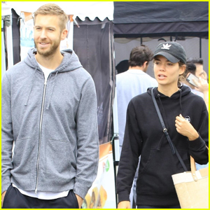 Calvin Harris & Girlfriend Aarika Wolf Spend the Day at Farmer's Market