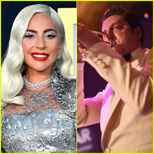 Lady Gaga Kisses Married Musician Brian Newman During Performance, But Source Says It's 'Harmless Part of Her Act!'