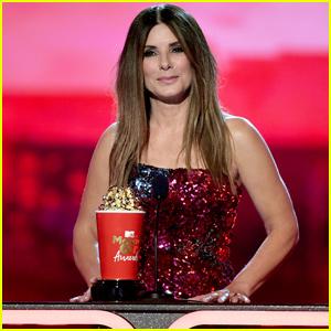 Sandra Bullock Dedicates MTV
