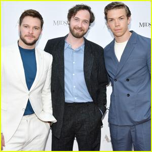 Will Poulter Joins Jack Reynor & Vilhelm Blomgren at 'Midsommar' Screening in LA