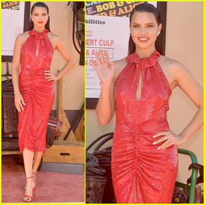 Adriana Lima Joins Tons of Celebs at 'Once Upon a Time in Hollywood' Premiere