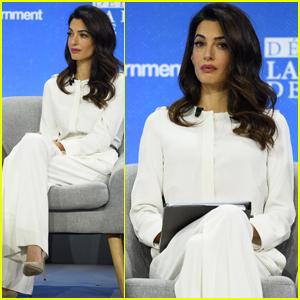 Amal Alamuddin Clooney Photos, News, and Videos | Just Jared