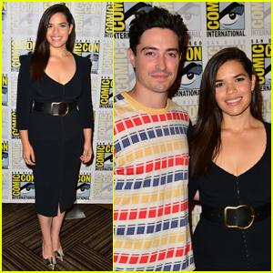 America Ferrera & Ben Feldman Bring 'Superstore' to Comic-Con 2019!