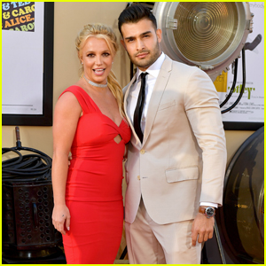 Britney Spears & Sam Asghari Make Red Carpet Debut at 'Once Upon a Time in Hollywood' Premiere