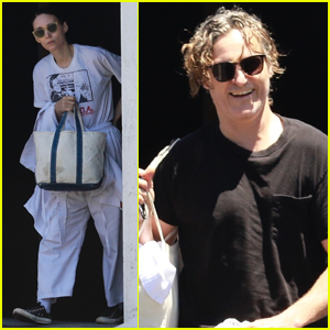 Rooney Mara & Joaquin Phoenix Step Out After Engagement News!