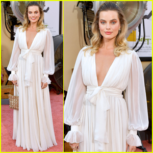 Margot Robbie Looks Stunning at the 'Once Upon a Time in Hollywood' Premiere