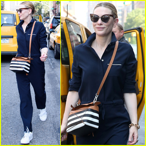 Cate Blanchett Rocks a Jumpsuit While Out in New York City