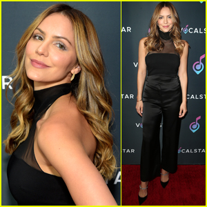 Katharine McPhee Attends Vocal Star Music Seminar in Hollywood