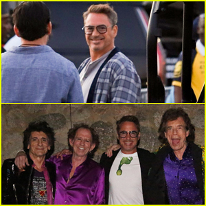 Robert Downey Jr. Announces NASA Naming Record-Setting Mars Rock After The Rolling Stones!