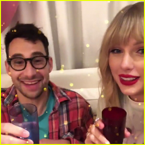 Taylor Swift Celebrates Release of 'Lover' with Producer Pal Jack Antonoff!