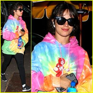 Camila Cabello Flies to Vegas Ahead of iHeartRadio Festival