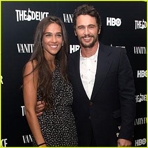 James Franco Brings Girlfriend